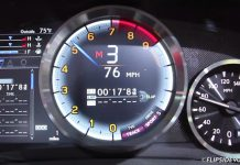 Watch the Lexus RC F's Electronic Gauges in Action