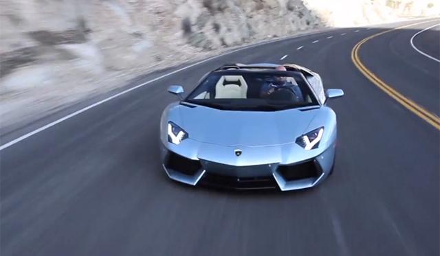 Matt Farah Drives Lamborghini Aventador Roadster And
