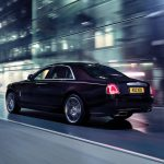 Black Sapphire Rolls-Royce Ghost V-Specification