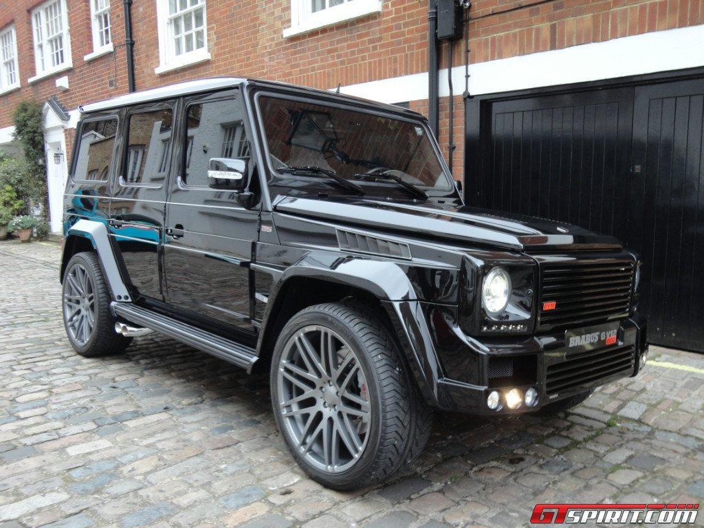 For sale 1 of 3 mercedes benz g class brabus g800 for Mercedes benz g class brabus