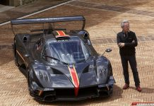 Watch the Pagani Zonda Revolucion on Track