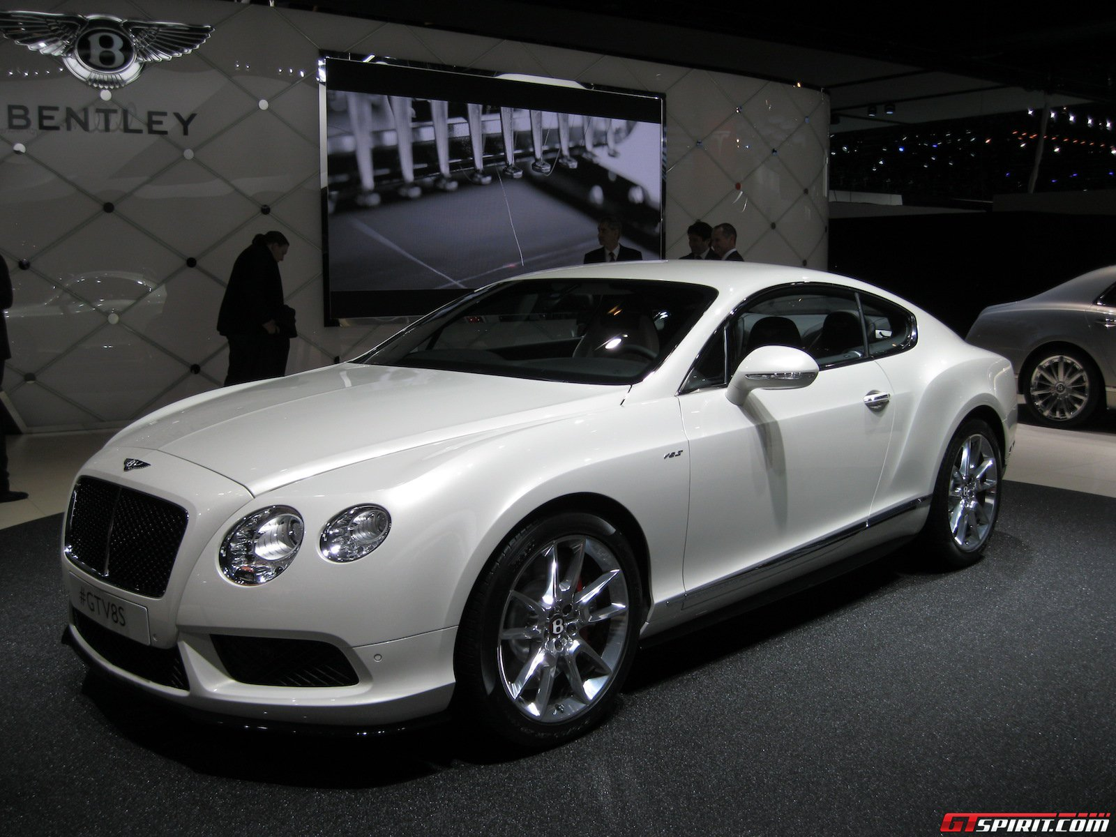 detroit 2014 bentley continental gt v8 s coup gtspirit. Black Bedroom Furniture Sets. Home Design Ideas