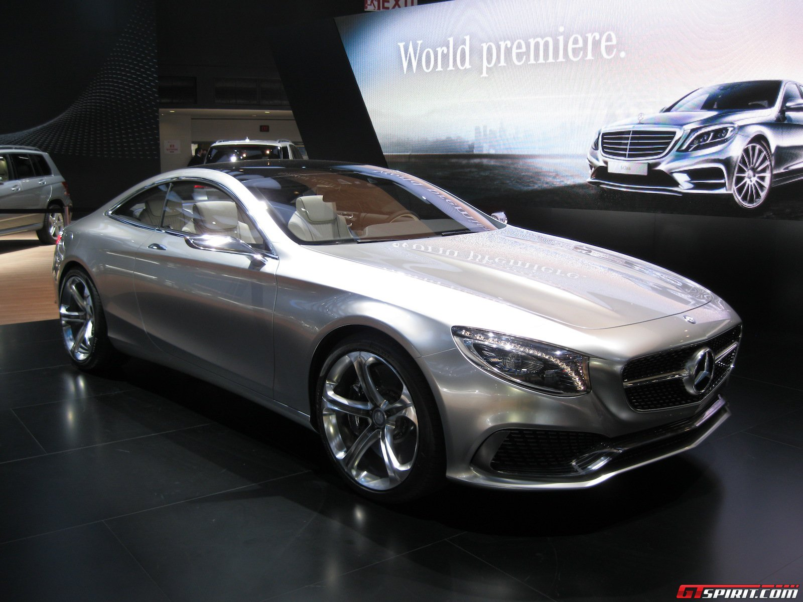 detroit 2014 mercedes benz s class coupe concept gtspirit. Black Bedroom Furniture Sets. Home Design Ideas