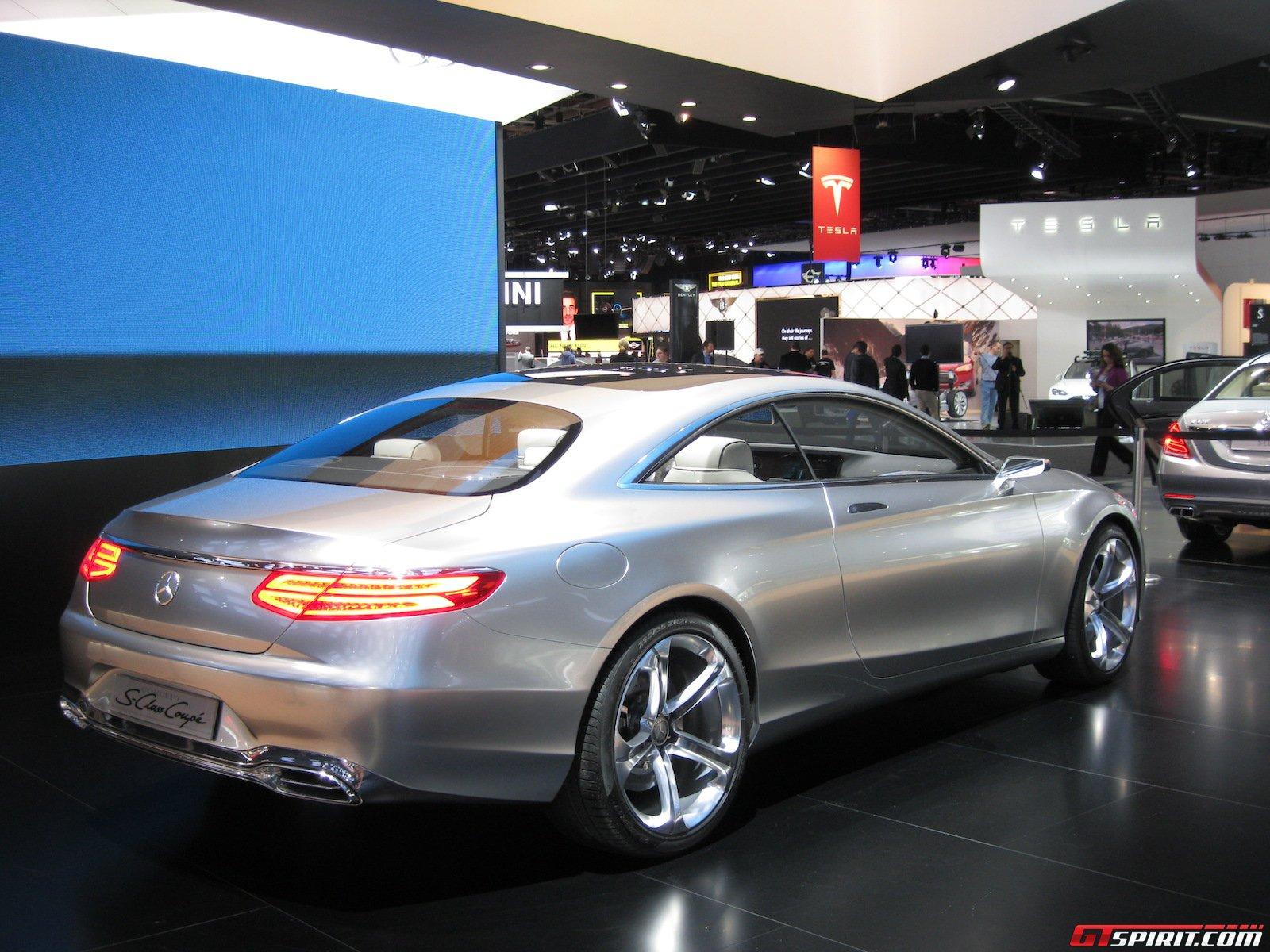 detroit 2014 mercedes benz s class coupe concept