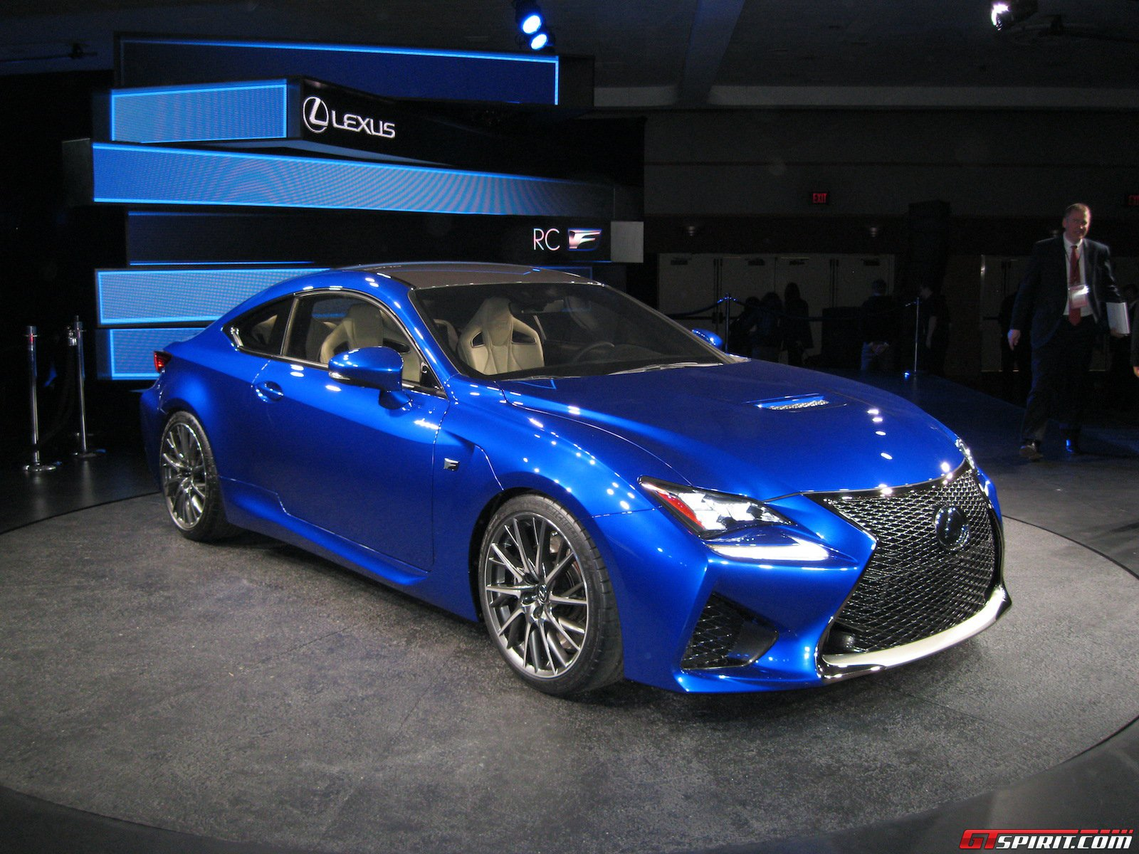 Detroit 2014 Lexus RC F Coupe  GTspirit