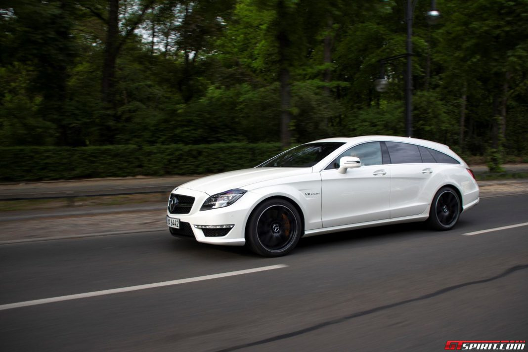 Mercedes-Benz CLS 63 AMG Shooting Brake Road Test