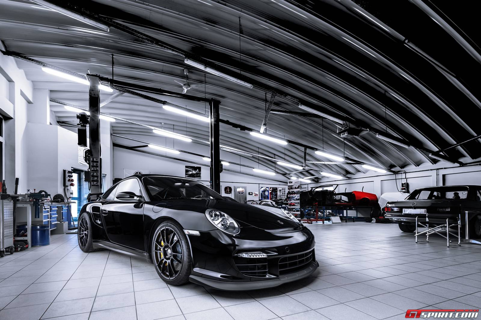 official porsche 911 gt2 clubsport by ok chiptuning gtspirit. Black Bedroom Furniture Sets. Home Design Ideas