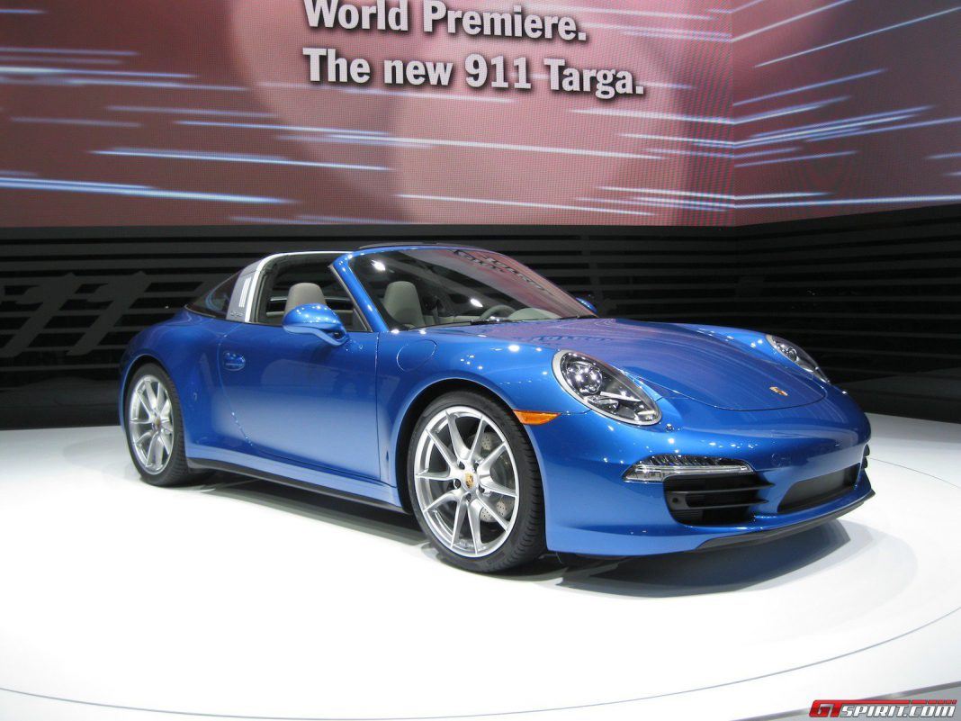 Detroit 2014 Porsche 991 Targa 4 And 4s Gtspirit