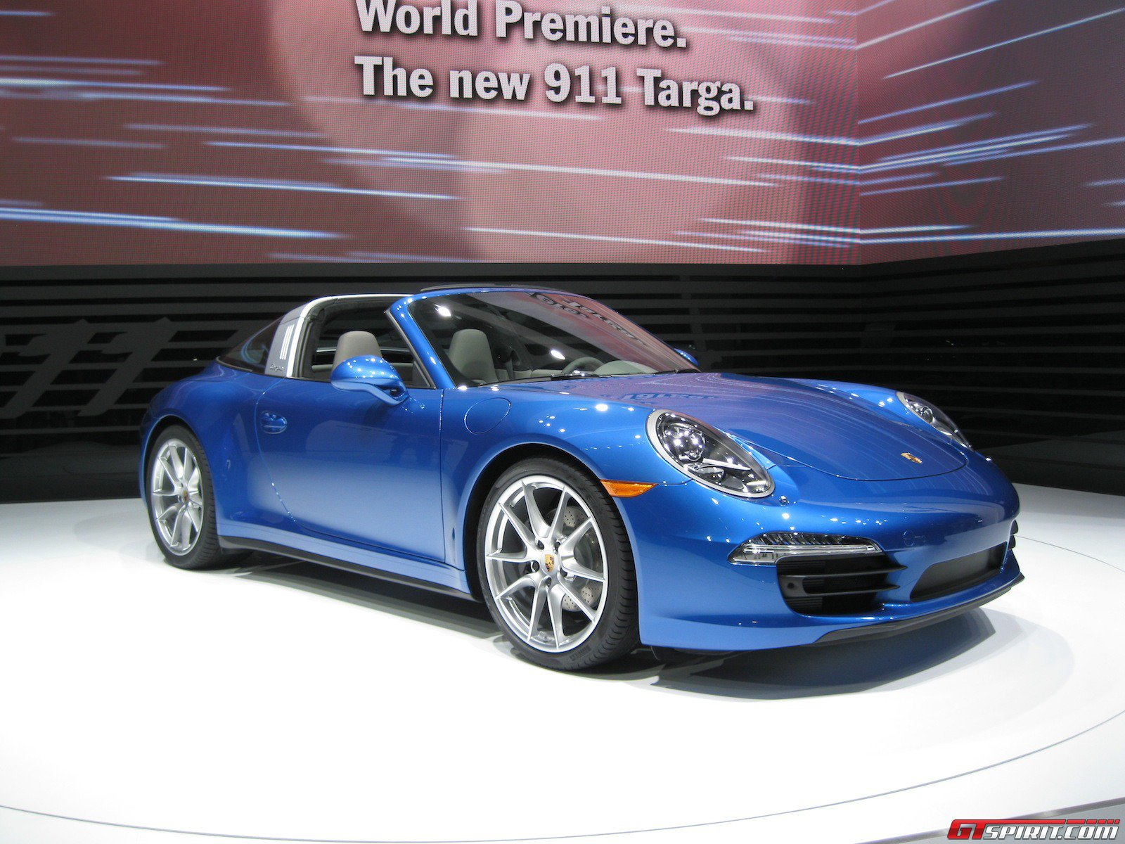 detroit 2014 porsche 991 targa 4 and 4s gtspirit. Black Bedroom Furniture Sets. Home Design Ideas