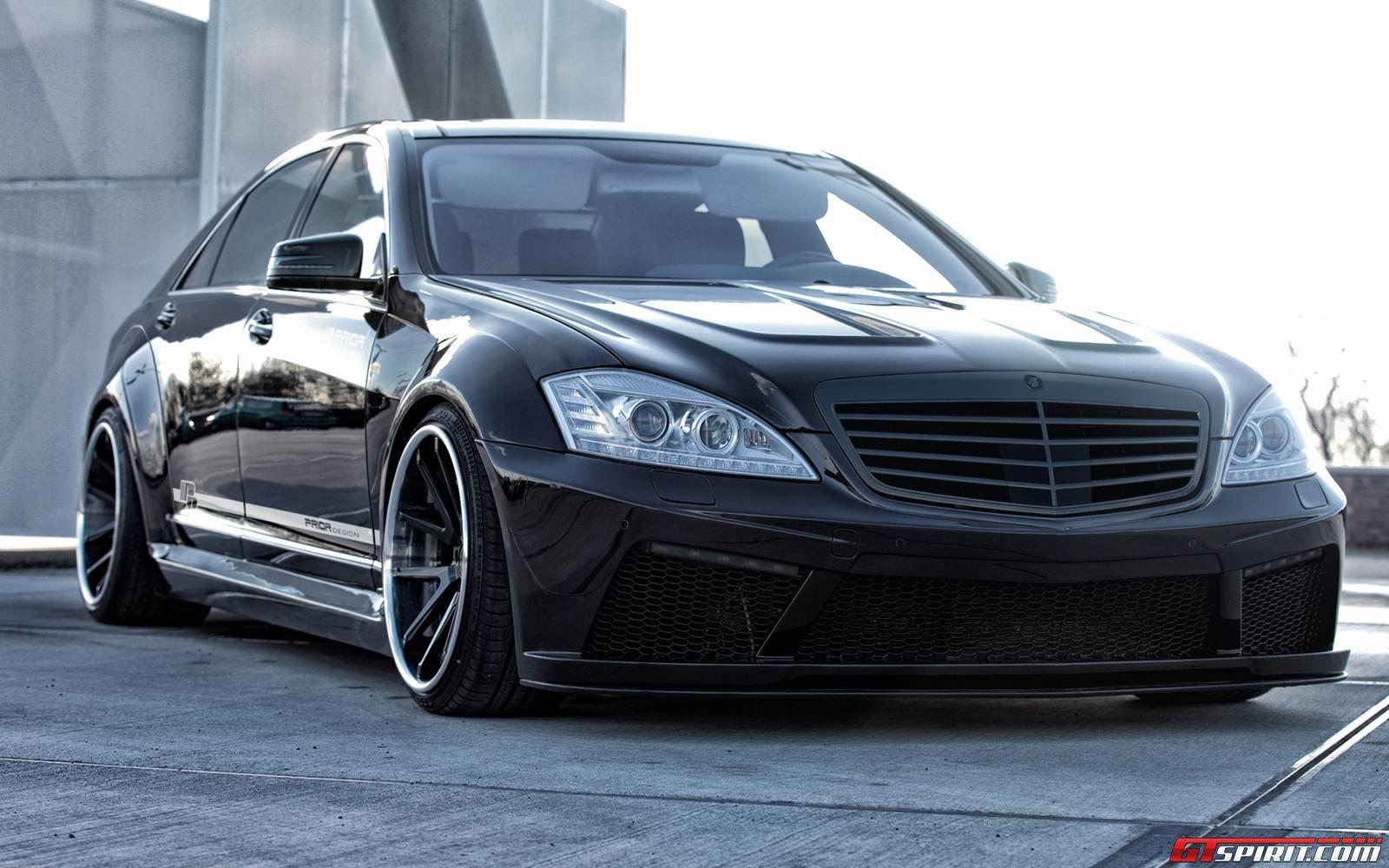 Official mercedes benz s class v2 widebody black edition for Mercedes benz black edition