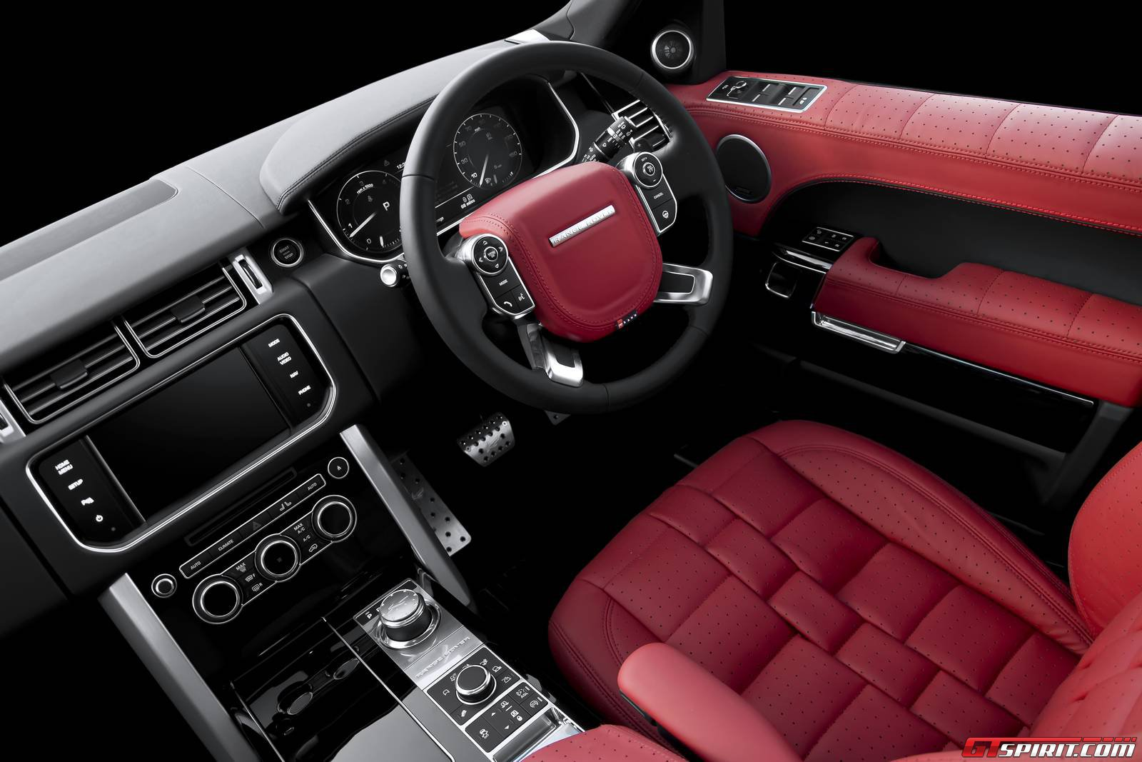 Official range rover 600 le luxury edition by a kahn for Interieur sport