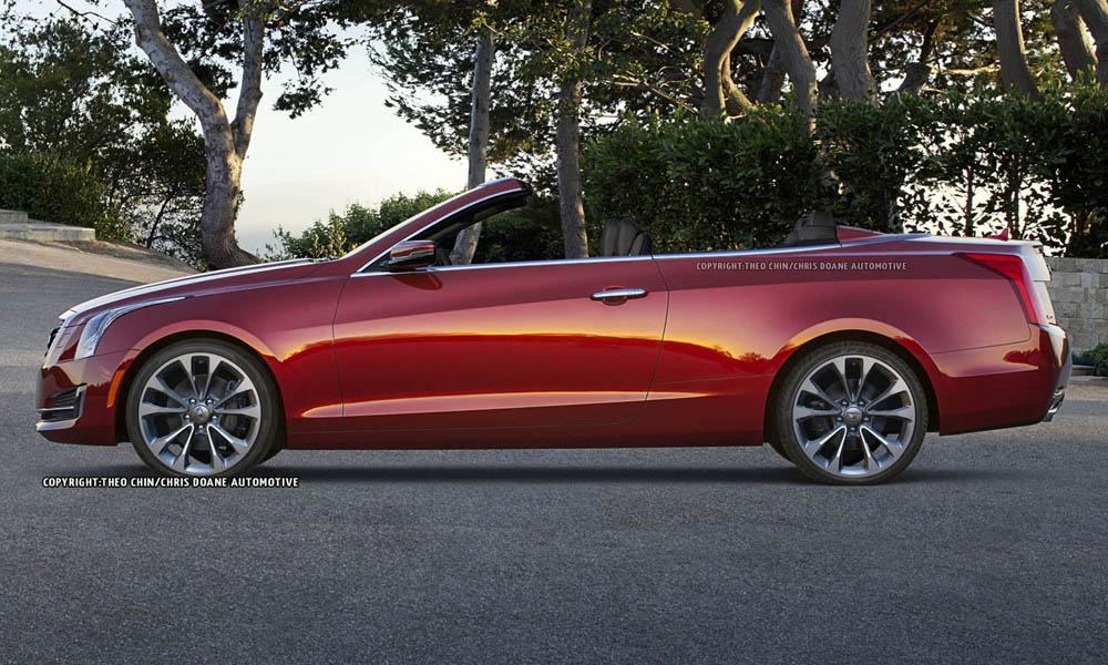 Cadillac ATS Convertible Could Look Like This - GTspirit