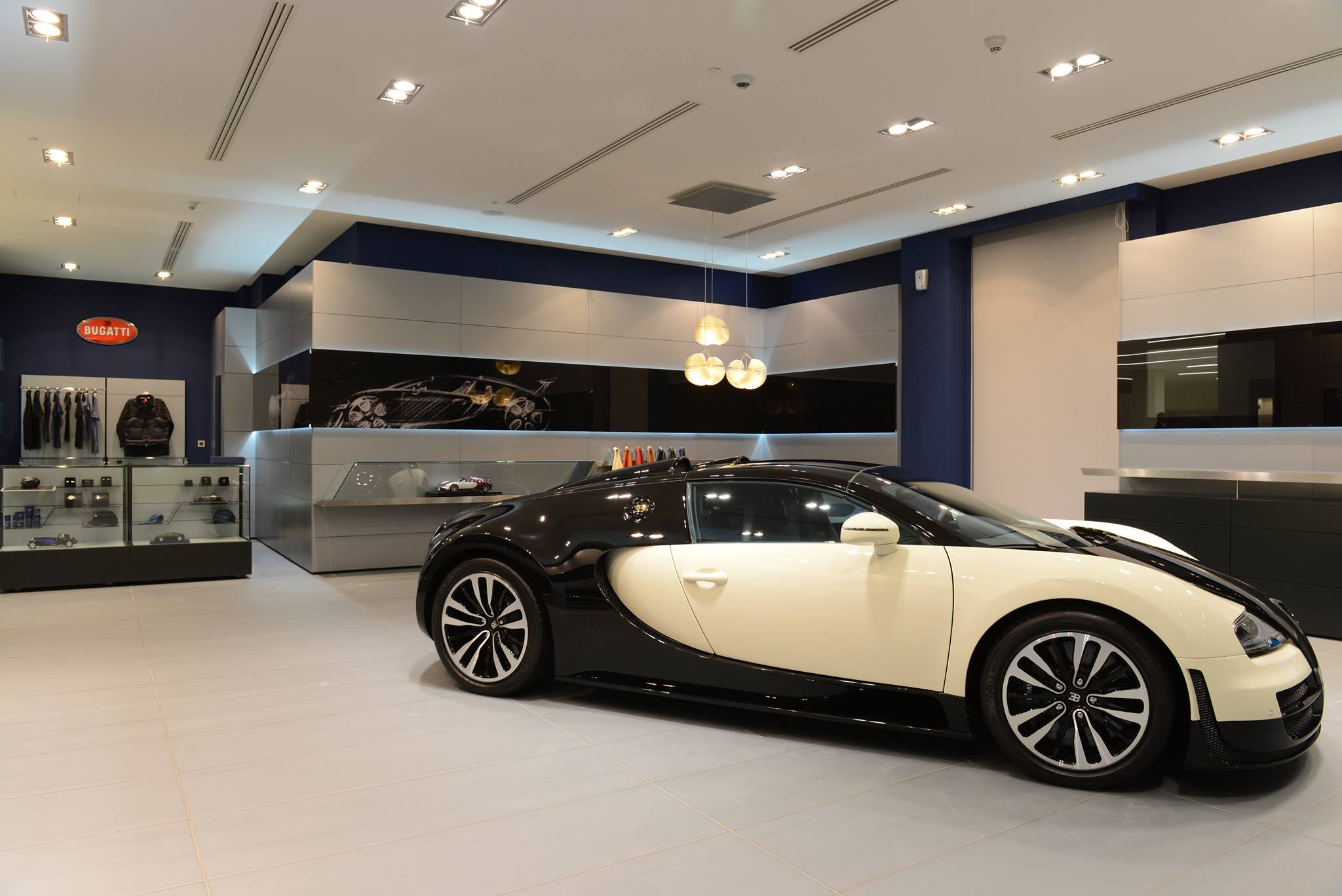 Bugatti Opens New Showroom In Qatar Gtspirit
