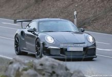 Largely Undisguised 2015 Porsche 911 GT3 RS Spied