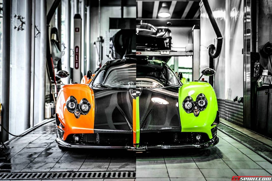 photo of the day pagani zonda cinque 39 s in hong kong. Black Bedroom Furniture Sets. Home Design Ideas