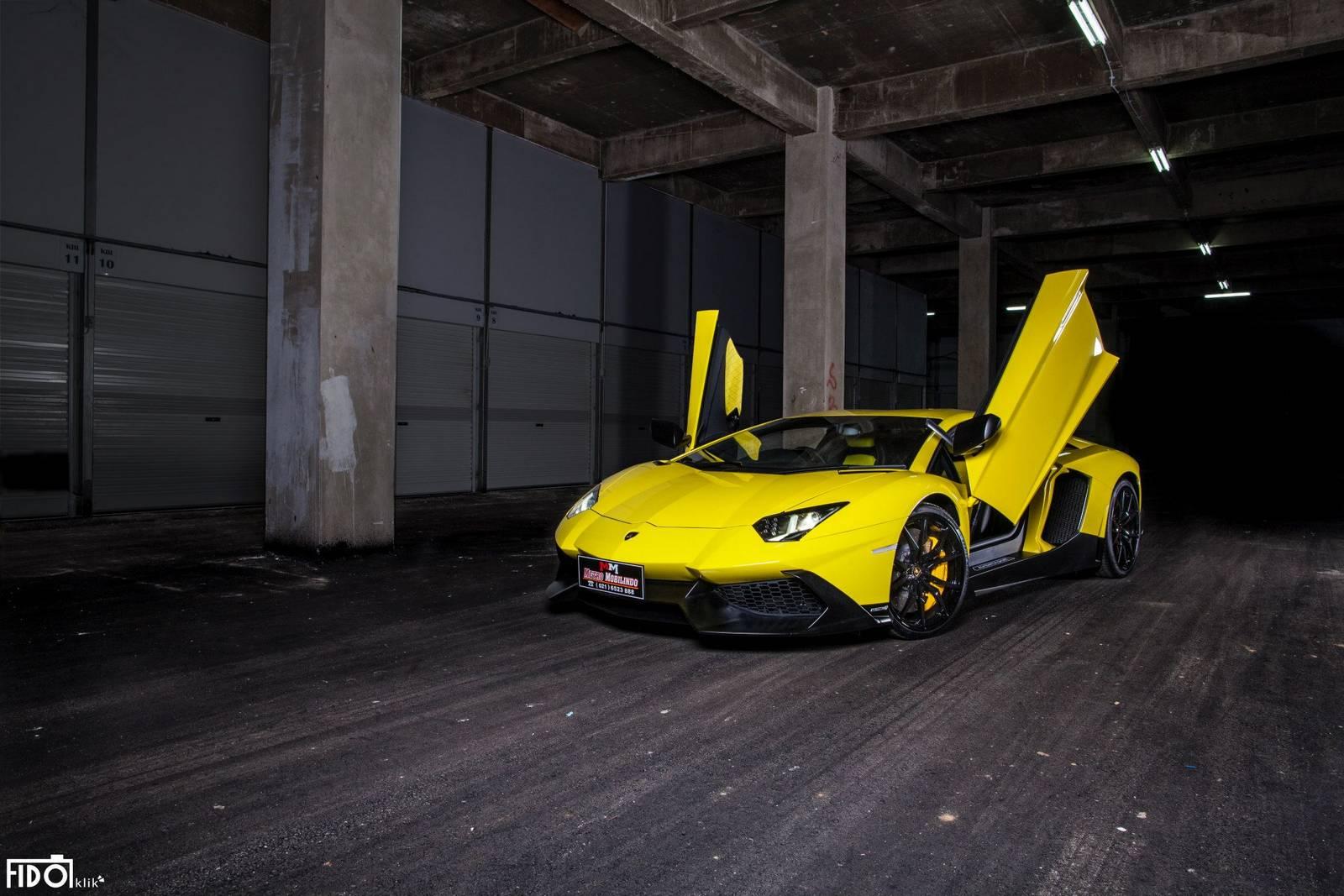 Lamborghini Aventador Lp720 4 50th Anniversario Photoshoot