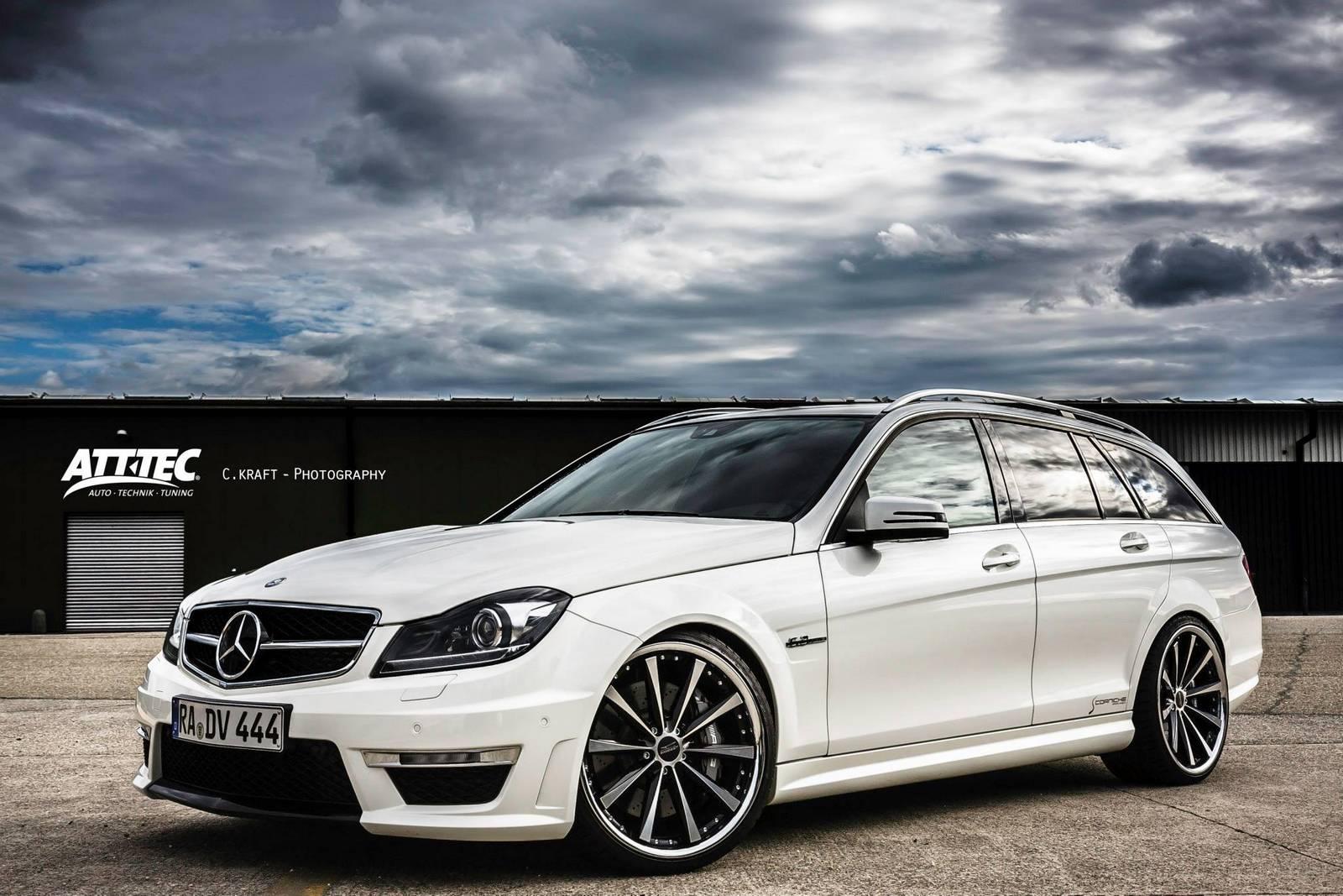 Mercedes benz c 63 amg estate by att tec gmbh gtspirit for Mercedes benz c550 for sale