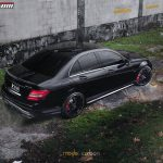 Obsidian Black Mercedes-Benz C63 Edition 507 by Mode Carbon