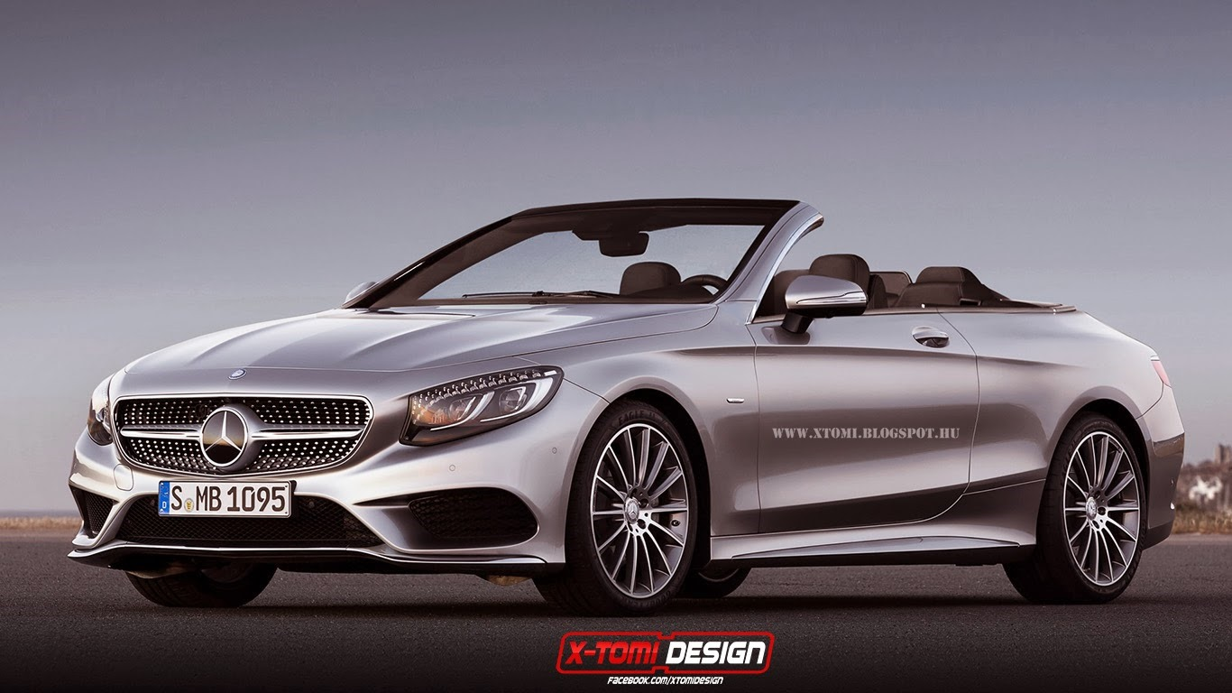 2015 mercedes benz s class already imagined as convertible for New mercedes benz s class 2015