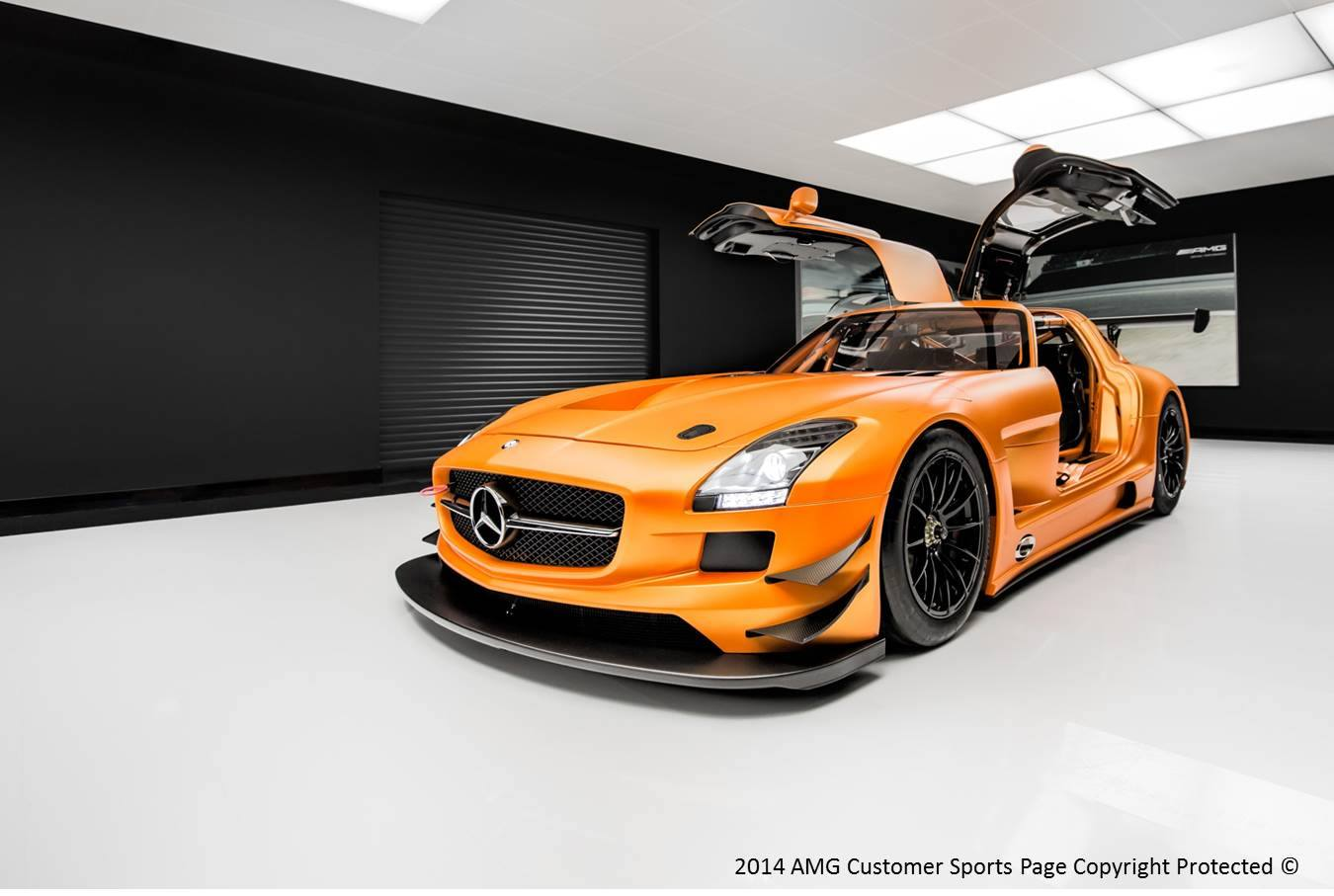 photo of the day orange mercedes benz sls amg gt3 gtspirit