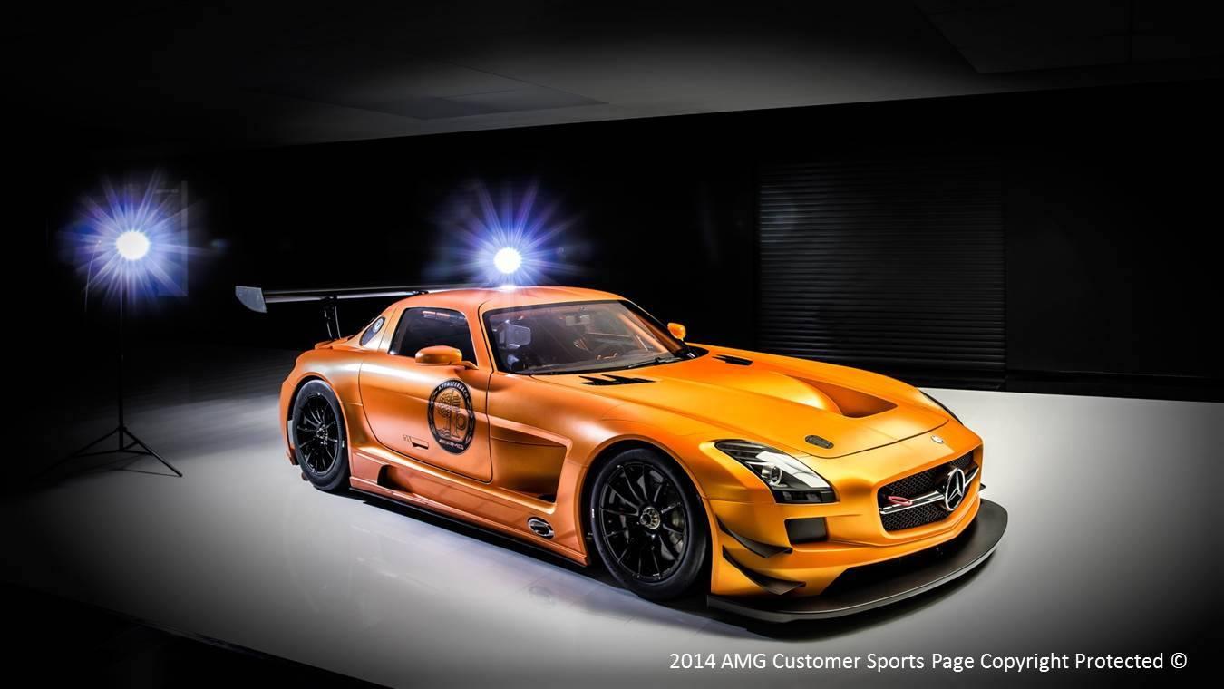 Photo Of The Day Orange Mercedes Benz Sls Amg Gt3 Gtspirit