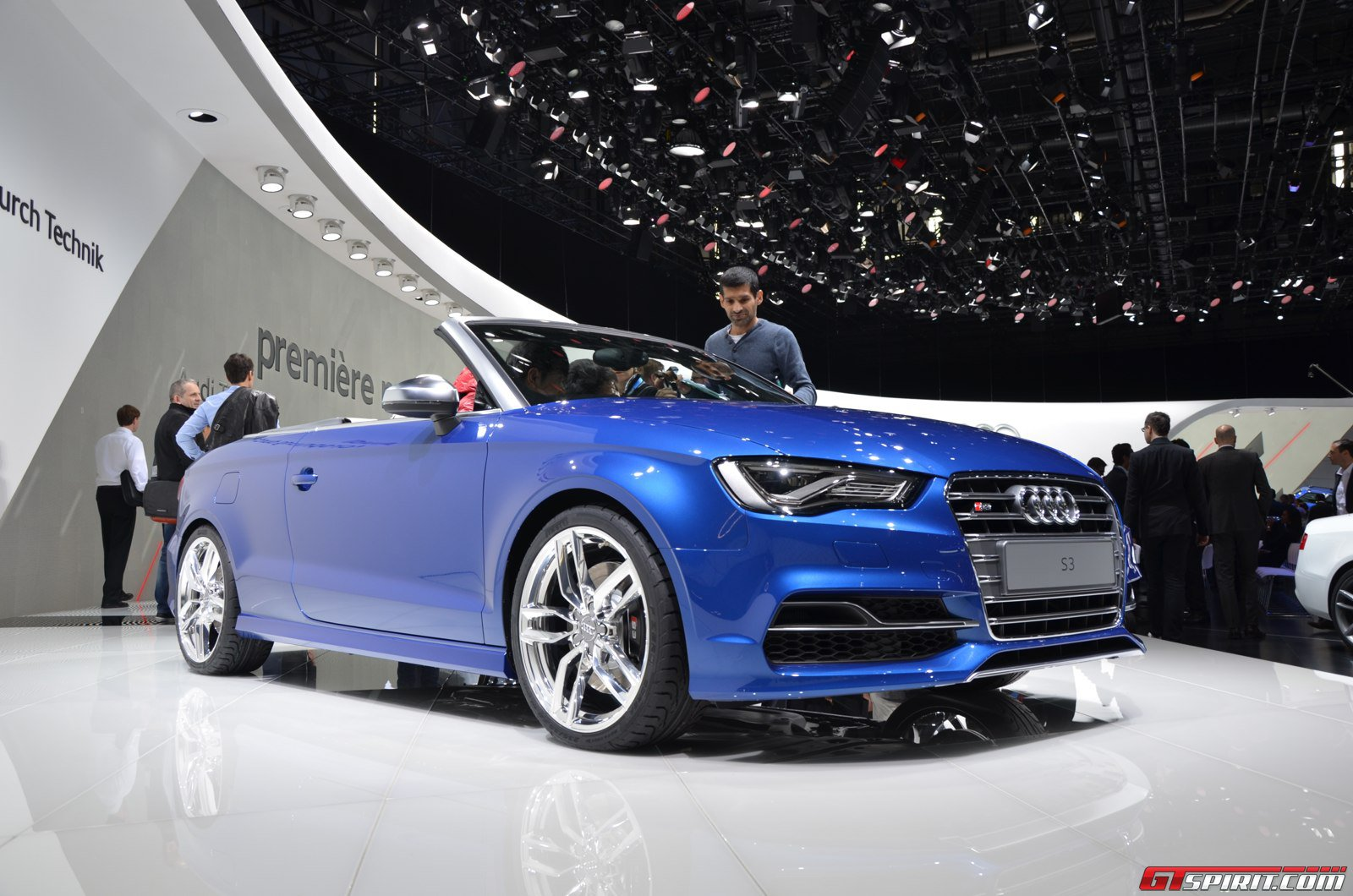 geneva 2014 audi s3 convertible gtspirit. Black Bedroom Furniture Sets. Home Design Ideas