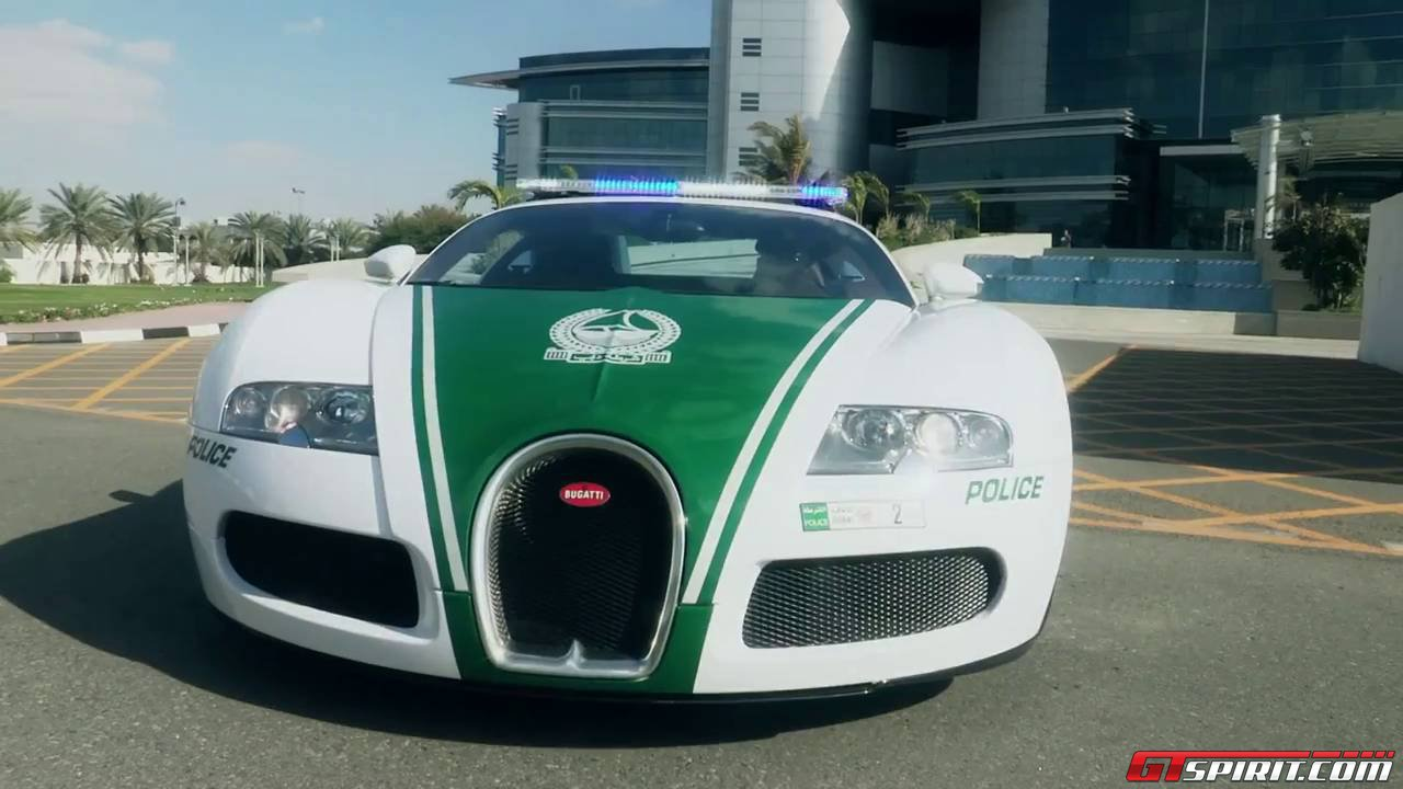 Dubai Police Adds Bugatti Veyron To Supercar Collection