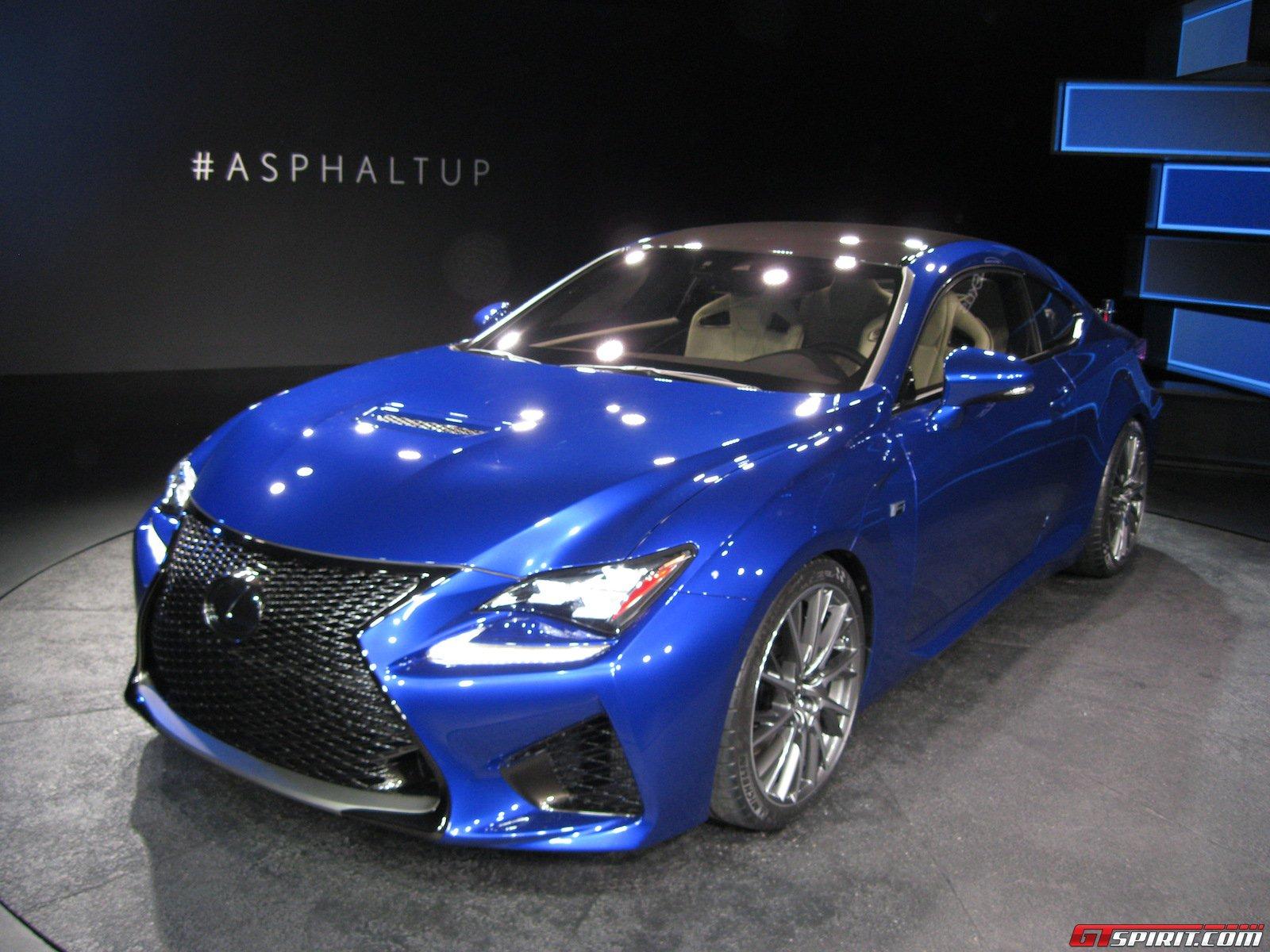 Lexus RC F and Lexus RC F GT3 Concept to Make Geneva Motor Show 2014 ...