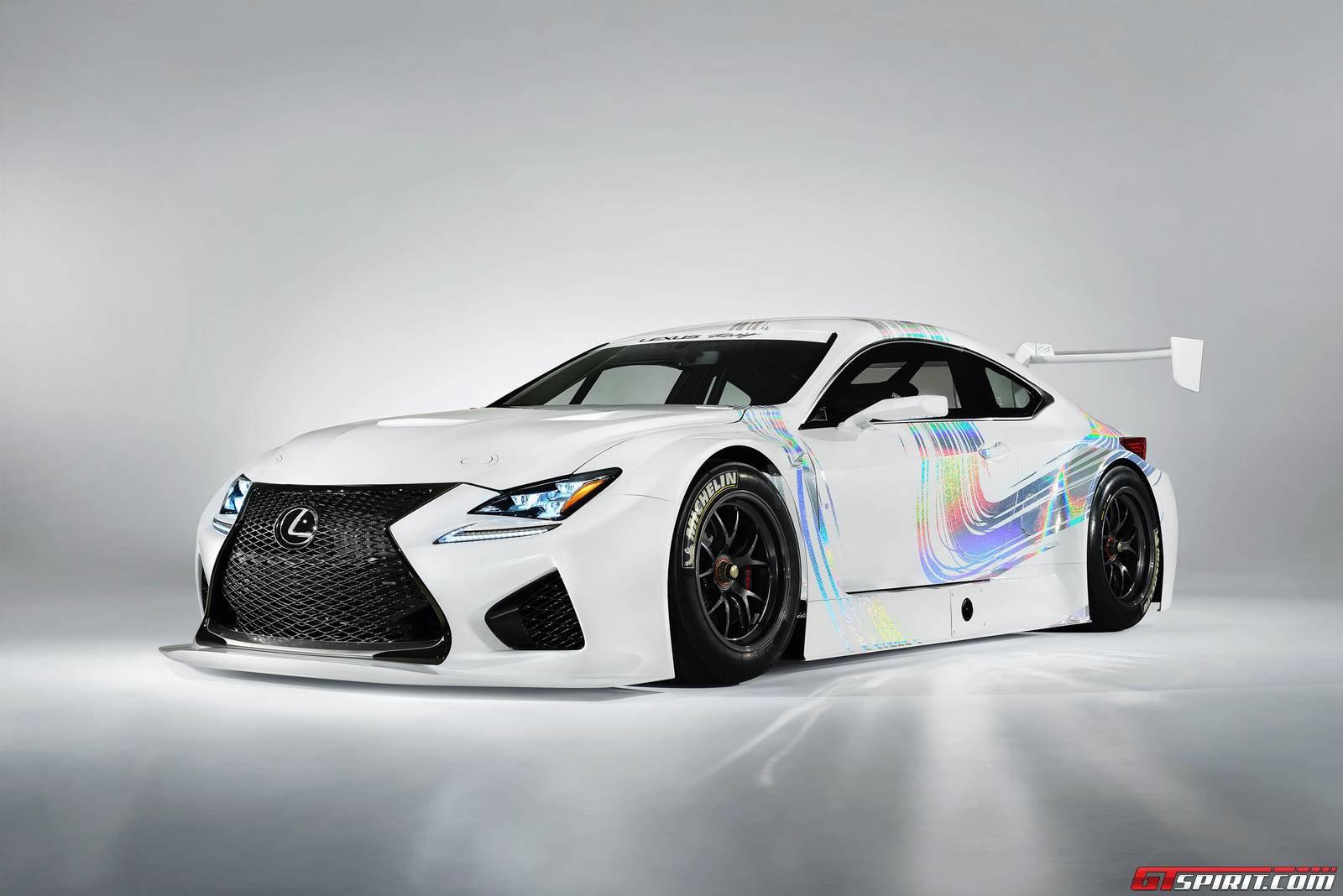 Official: Lexus RC F GT3 Concept - GTspirit