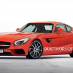 2015 Mercedes-Benz AMG GT Rendered