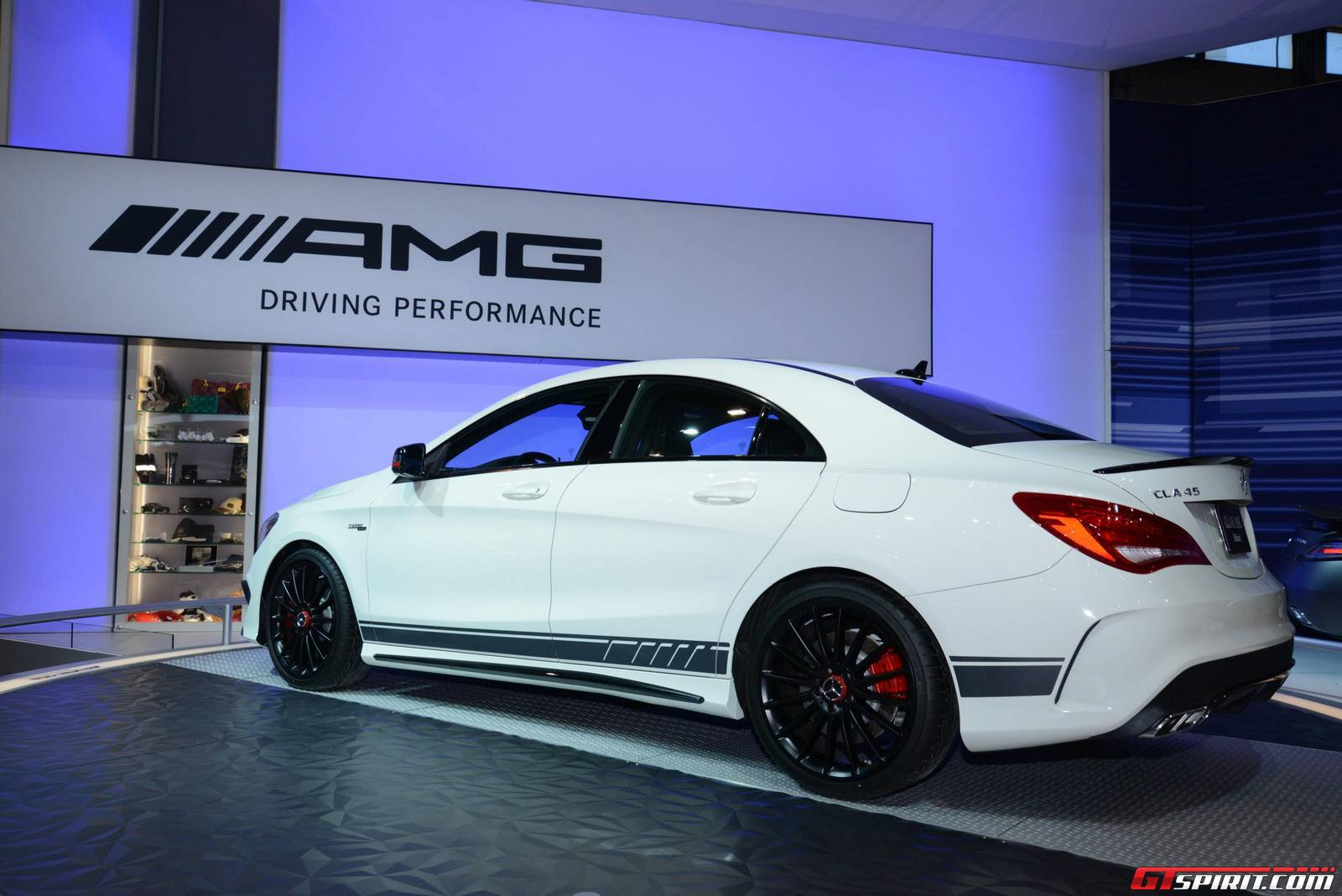 chicago 2014 mercedes benz cla 45 amg gtspirit. Cars Review. Best American Auto & Cars Review