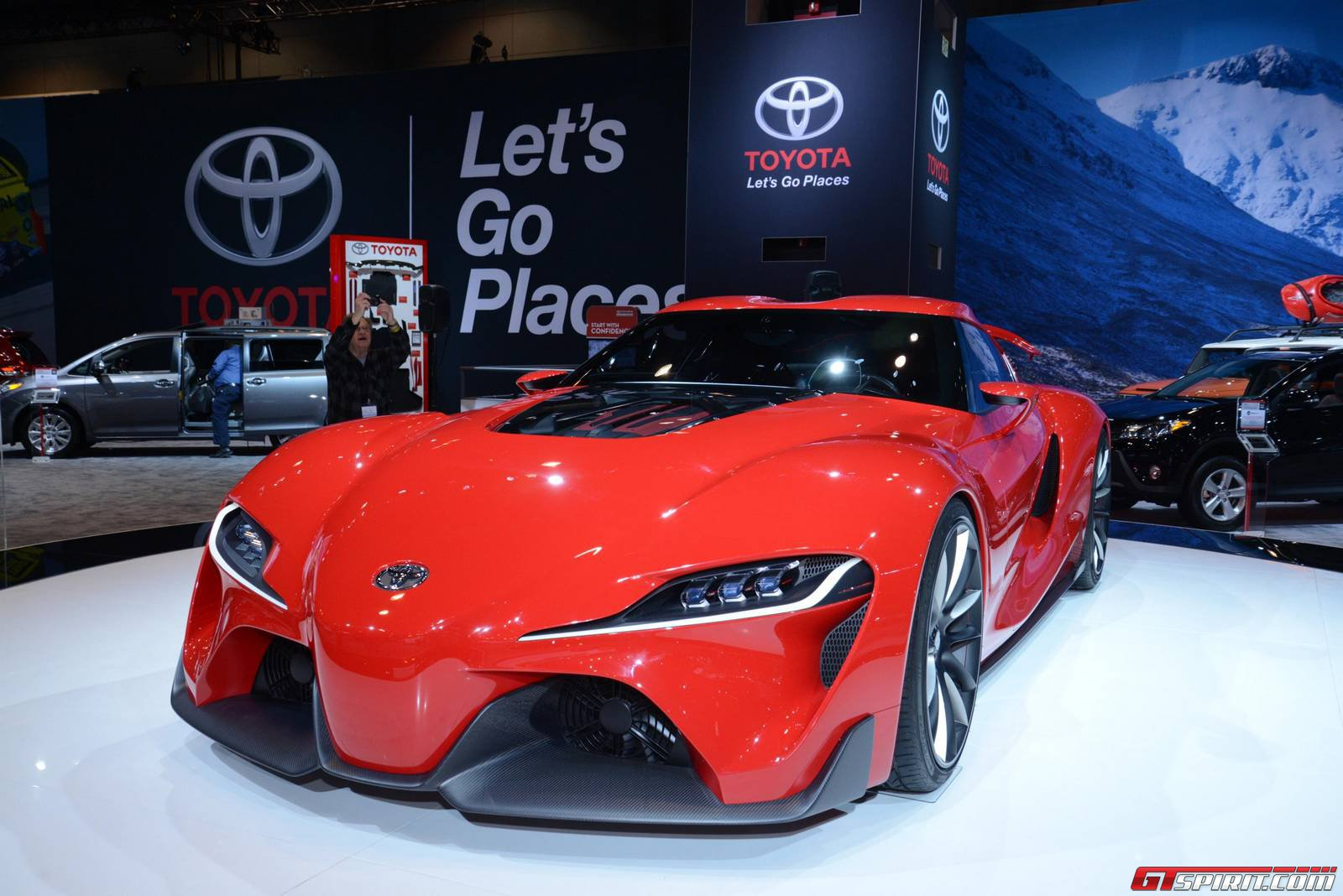 chicago 2014 toyota ft 1 concept gtspirit. Black Bedroom Furniture Sets. Home Design Ideas