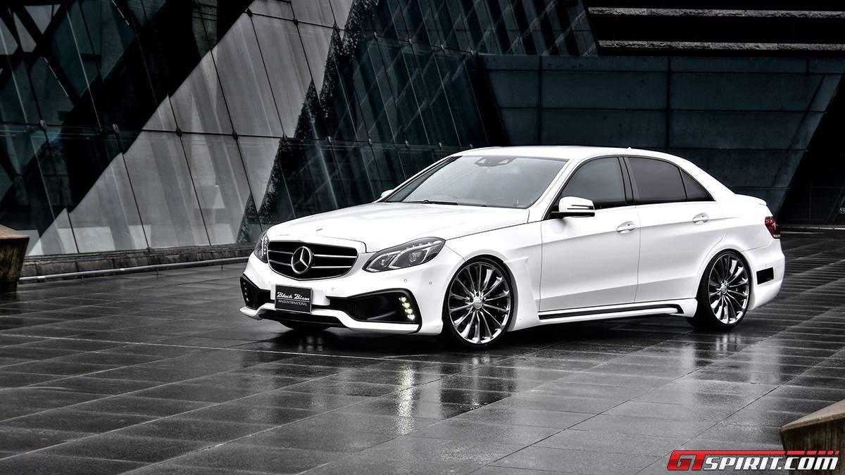 Official wald international mercedes benz e class black for Mercedes benz black edition