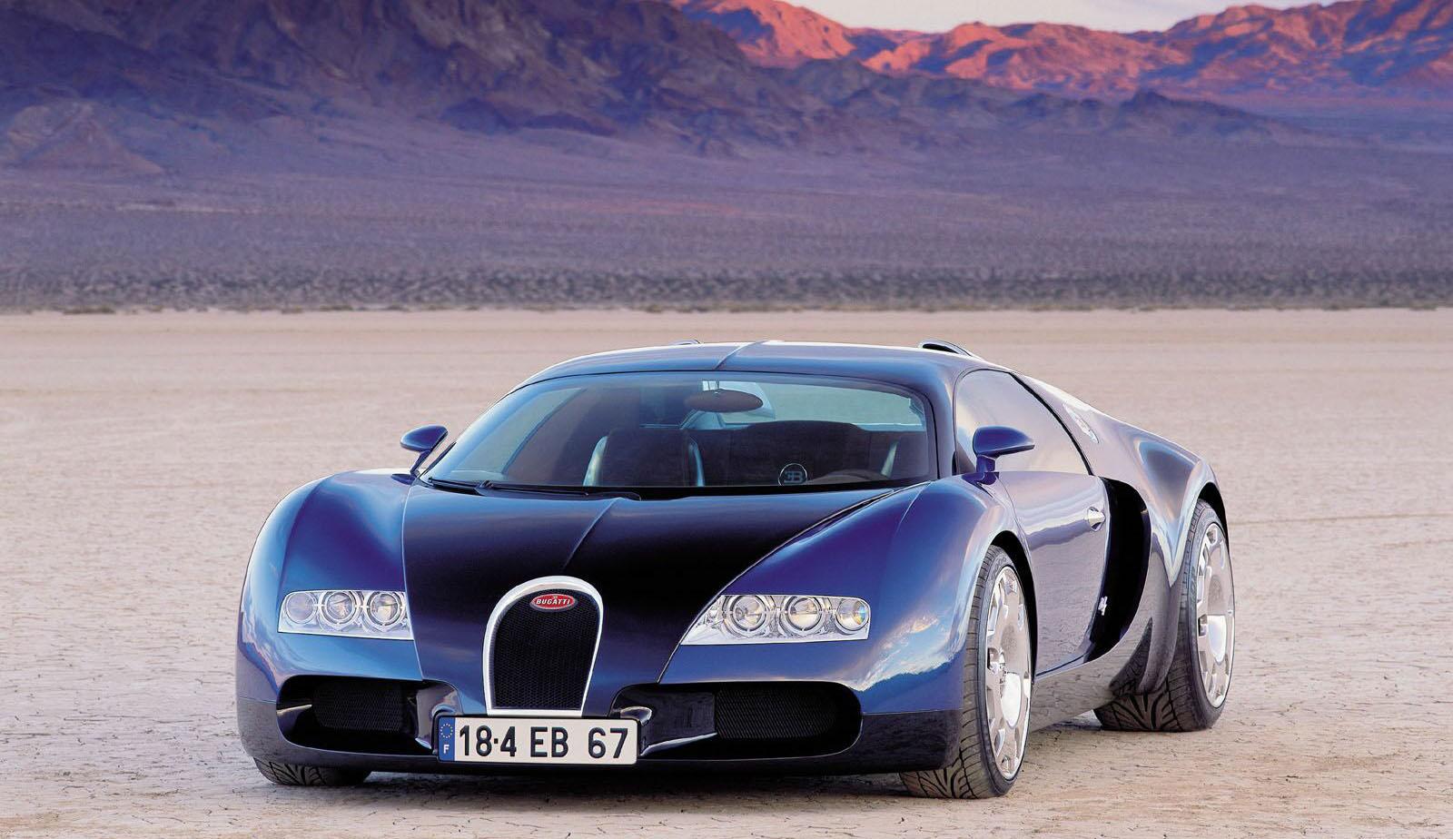 Bugatti veyron concept