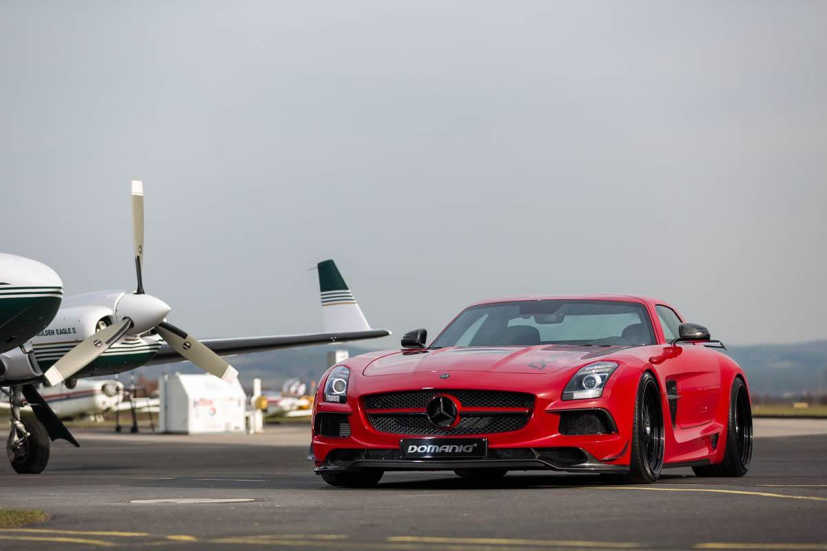 Official: Mercedes Benz SLS AMG Black Series By Domanig