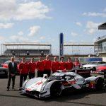 Audi Reveals New R18 e-tron Quattro to Public at Le Mans