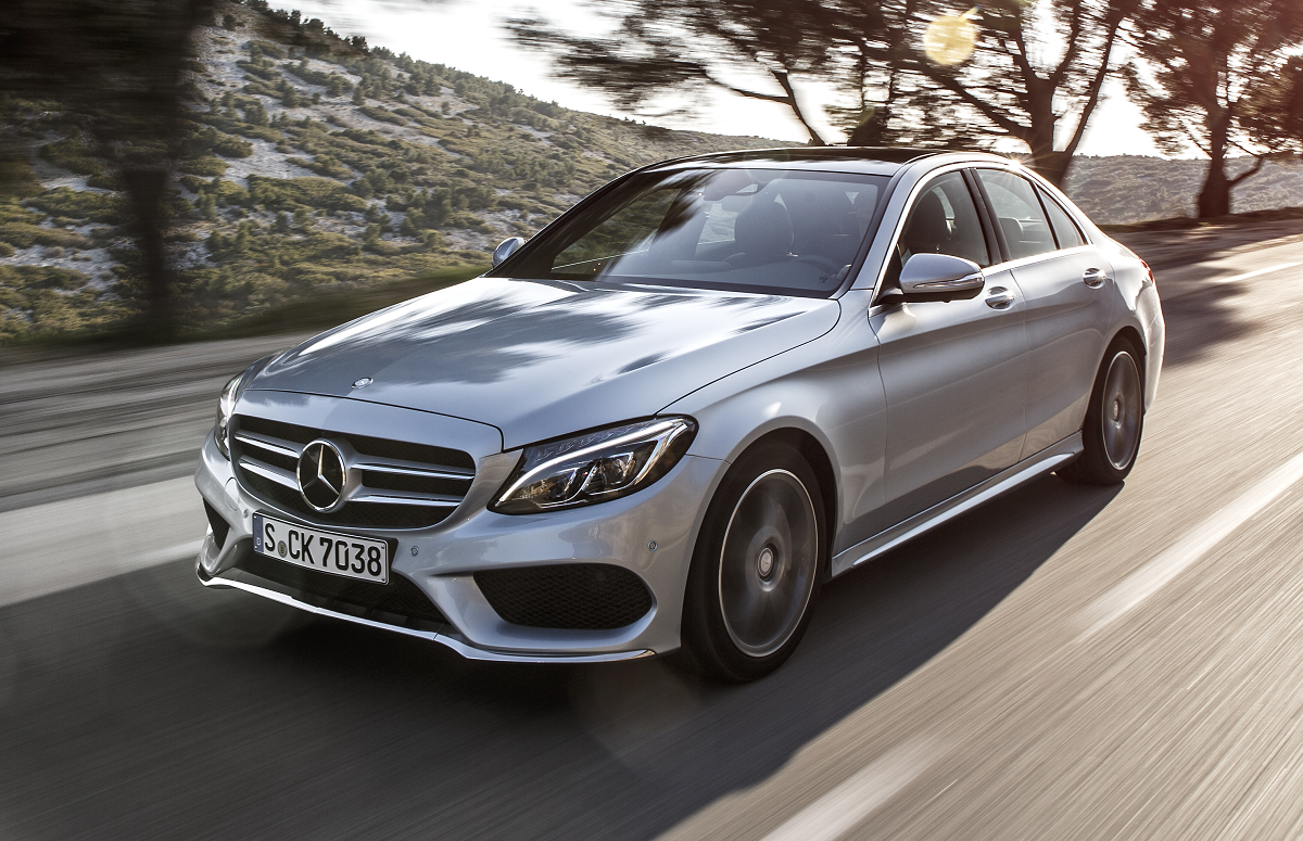 2015 mercedes benz c class review gtspirit for Mercedes benz c class pictures