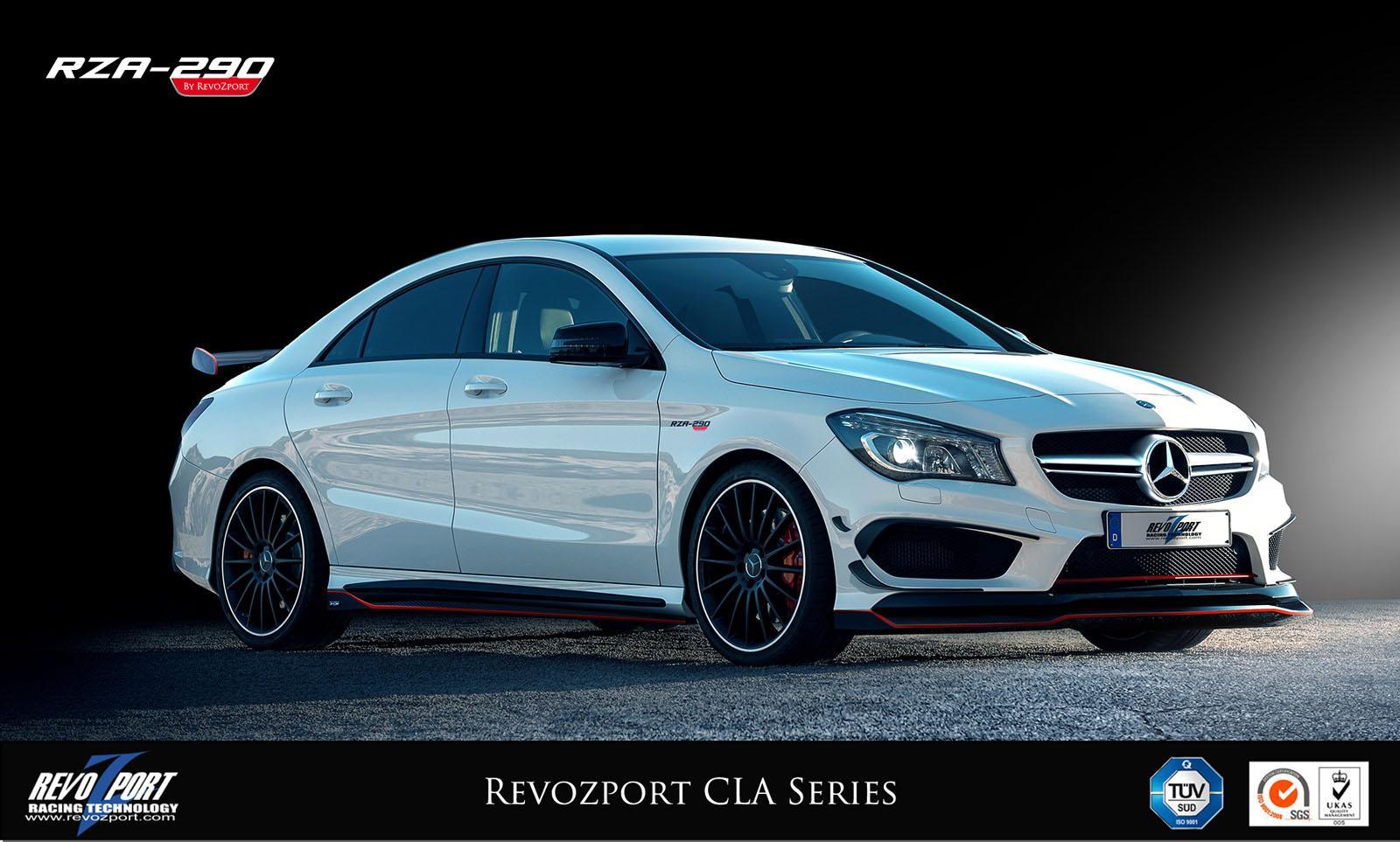 Official Mercedes Benz Cla By Revozport Gtspirit