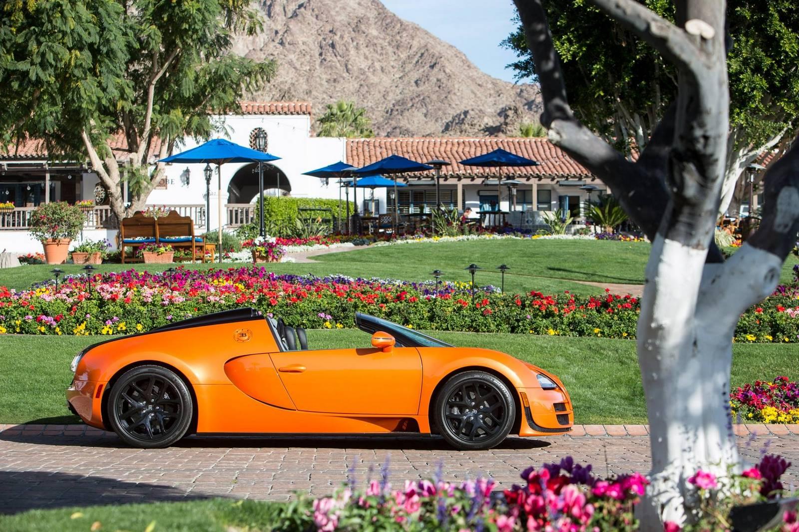 photo of the day orange bugatti veyron grand sport vitesse gtspirit. Black Bedroom Furniture Sets. Home Design Ideas
