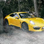 Stunning Yellow Porsche 911 Carrera Stinger by TopCar