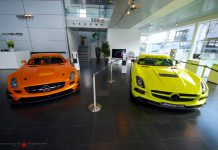 Neon Yellow Mercedes-Benz SLS AMG Black Series
