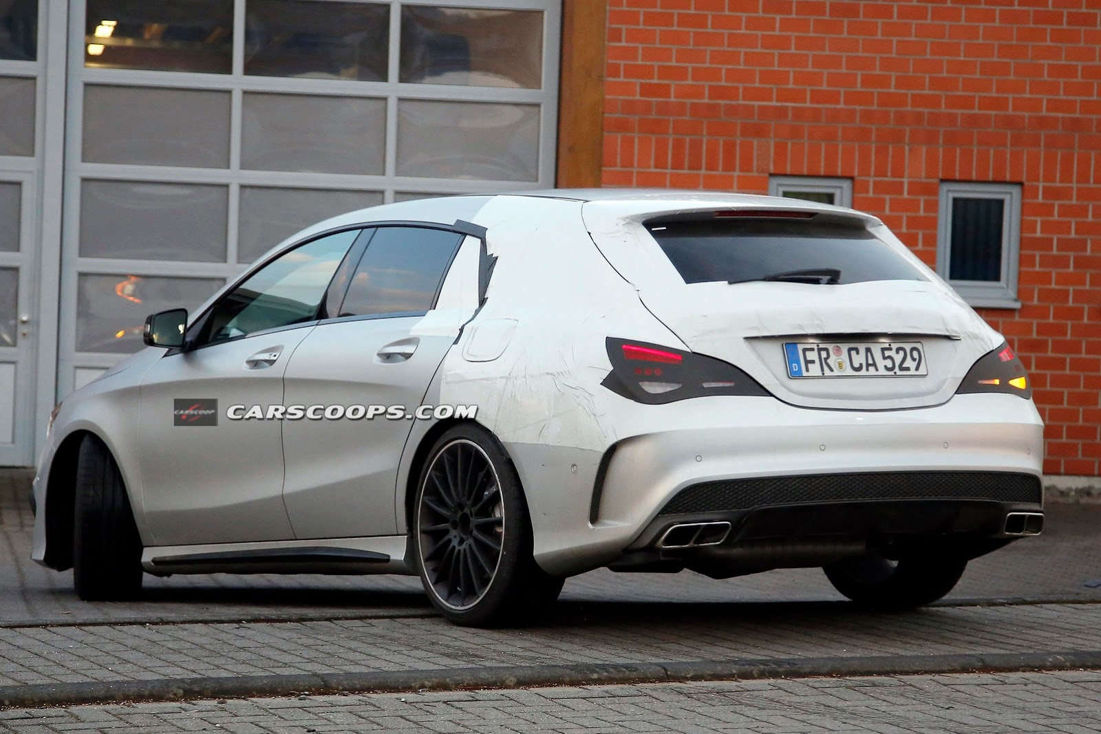 mercedes benz cla 45 amg shooting brake continues taking. Black Bedroom Furniture Sets. Home Design Ideas