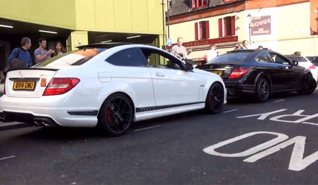 riding in mercedes benz c63 amg edition 507 in london. Black Bedroom Furniture Sets. Home Design Ideas