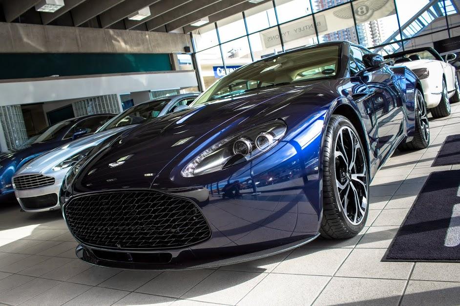 Beautiful Blue Aston Martin V Zagato For Sale In The US GTspirit - Aston martin for sale usa