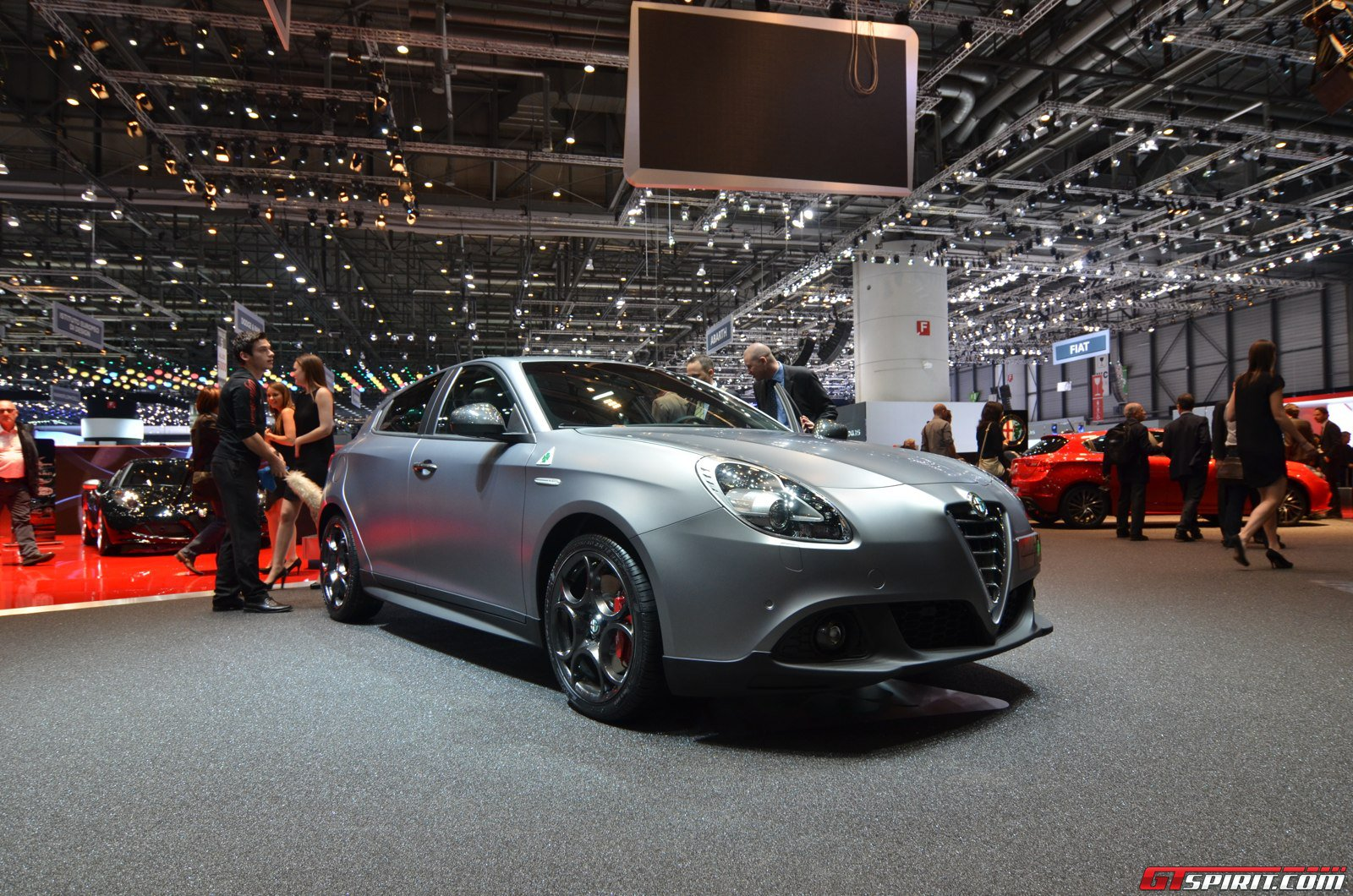 geneva 2014 alfa romeo giulietta quadrifoglio verde gtspirit. Black Bedroom Furniture Sets. Home Design Ideas