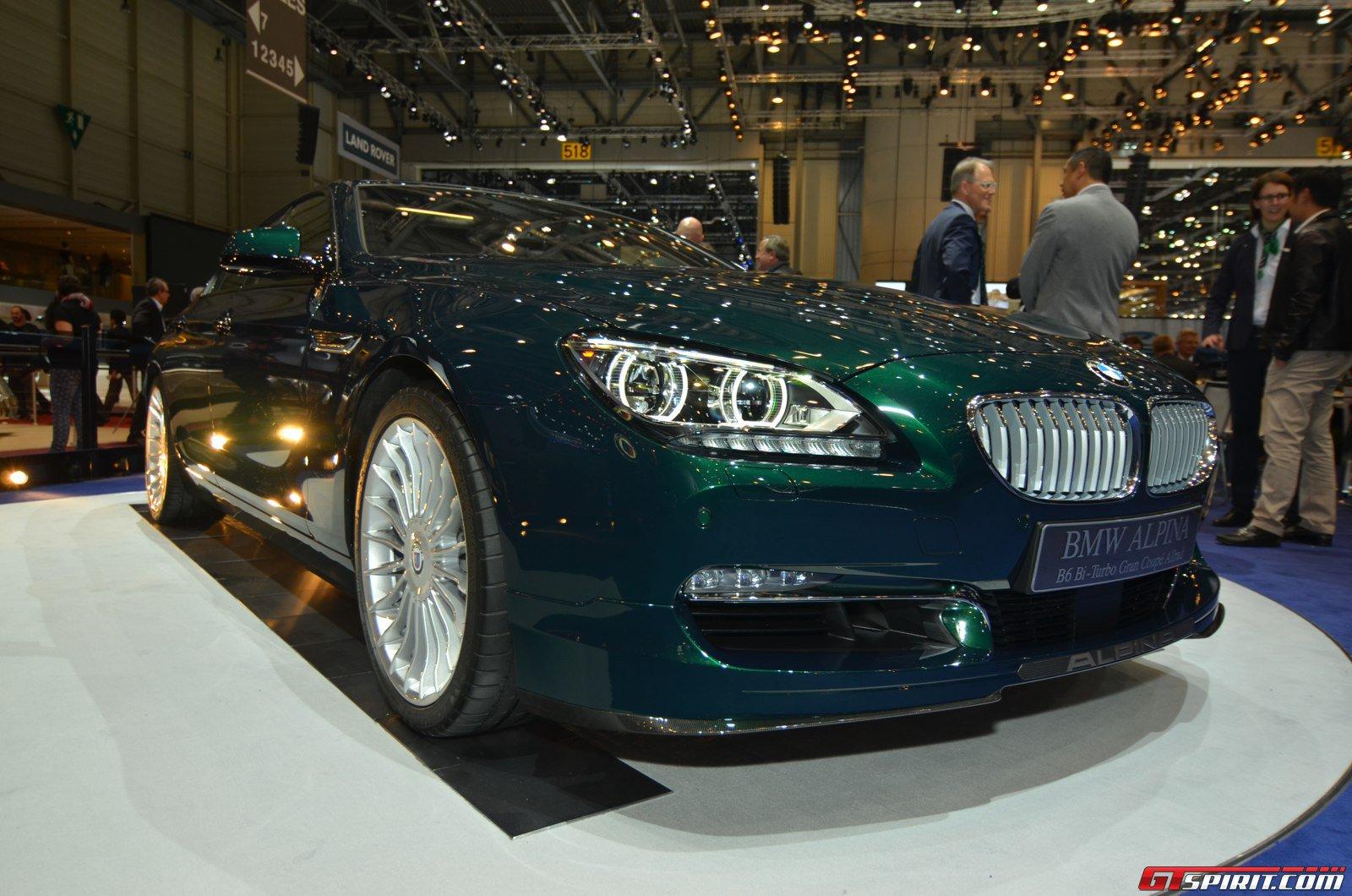 Geneva 2014 Alpina B6 Xdrive Gran Coupe Gtspirit