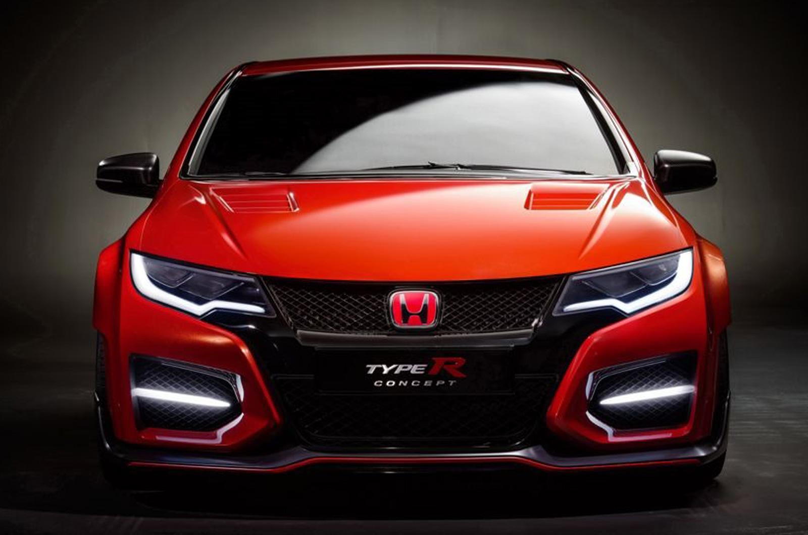 Honda Civic Type R Concept Leaks Before Geneva Debut - GTspirit