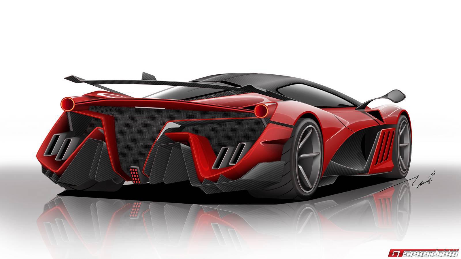 Render: Ferrari Vision Concept
