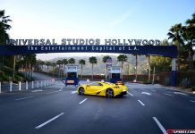 GTA Spano Wows at Universal Studios Hollywood