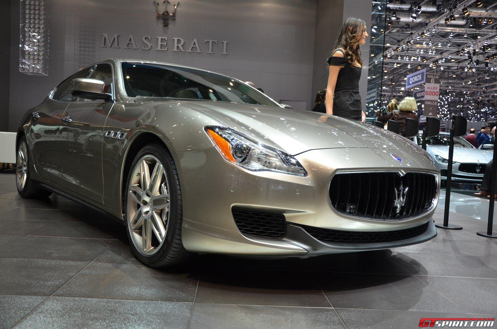 Geneva 2014: Maserati Quattroporte Ermenegildo Zegna - GTspirit